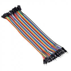 10 cm 40p Male-Female Wires