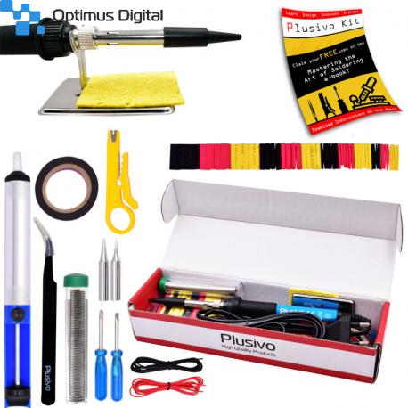Plusivo Basic Soldering Kit for Electronics (plug type: EU)(unsealed, used)