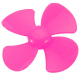 60 mm Pink Propeller