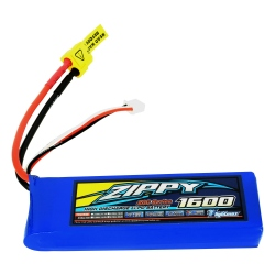 1600 mAh 2S1P 20C Flightmax LiPo ZIPPY Battery