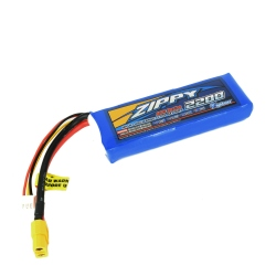LiPo Zippy Flightmax 2200 mAh 7.4V 20C Battery