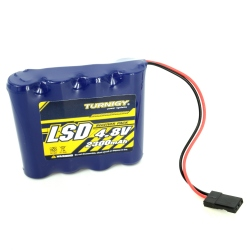 NiMH Turnigy 2300 mAh 4.8v In-Line Battery - For Reciver
