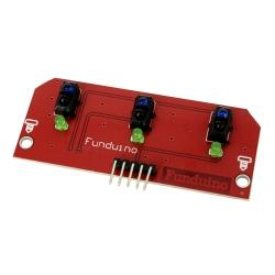 Line Sensor Array (with 3 Sensors)