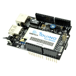 Yun Ethernet Shield for Arduino (LAN + WiFi)
