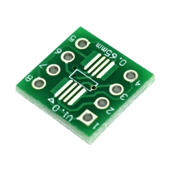 SOP8, SSOP8 and TSSOP8 to DIP PCB Adapter