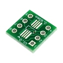 SOP8, SSOP8 and TSSOP8 to DIP PCB Adapter