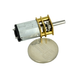 GA12-N20 Micro Gearmotor 12GAN20-298 with 10 mm long shaft