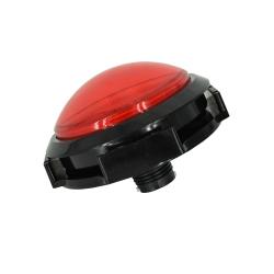 Buton cu LED Arcade - 100mm Rosu