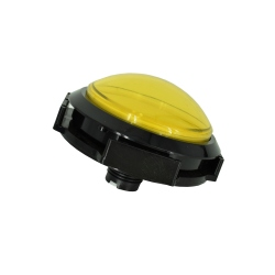 Arcade Button with LED - 100mm Yellow