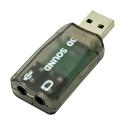 USB Sound Card 5.1 (Black)