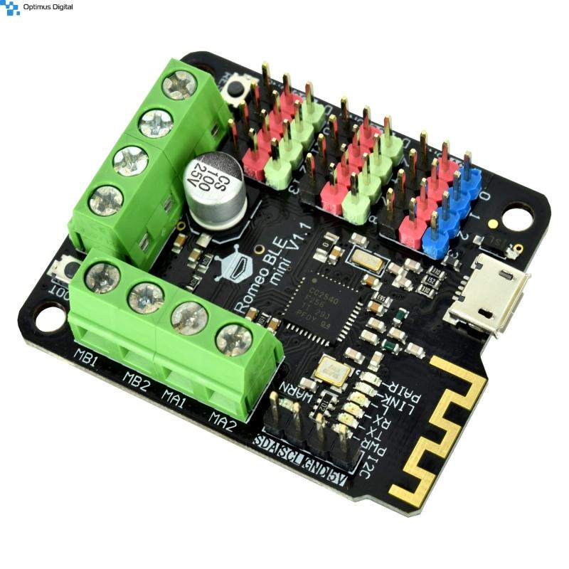 Romeo BLE mini - Arduino cu driver de motor si Bluetooth v4.0