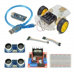 Kit Robot cu Senzori Obstacole