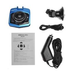 HD 1080p Auto Camera For Dashboard With 2.4'' Screen