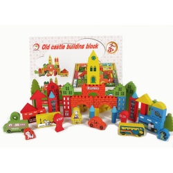 Old castle building block
