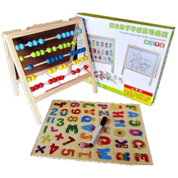Magnetic Table With Figures And Letters