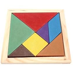 Puzzle Tangram 11.5 cm x 11.5 cm
