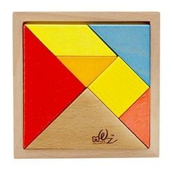 Puzzle Tangram 14.2 cm x 14.2 cm