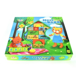 Wooden Cubes Set