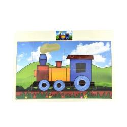 Puzzle Locomotiva