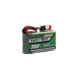 LiPo Turnigy Nano-Tech 750 mAh 1S 35-70C Battery for Walkera V120D02S / QR Infra X / QR W100S