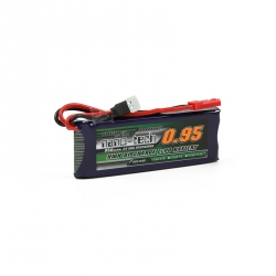 LiPo Turnigy Nano-Tech Battery 950 mAh 1S 25 ~ 50C (3.7 V)