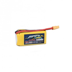 LiPo Zippy Compact 1000 mAh 3S 35C Battery (11.1 V)