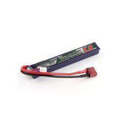 Acumulator LiPo Turnigy Nano-Tech cu Conector T pentru Airsoft 1200 mAh 3S 15~30C (11.1 V)
