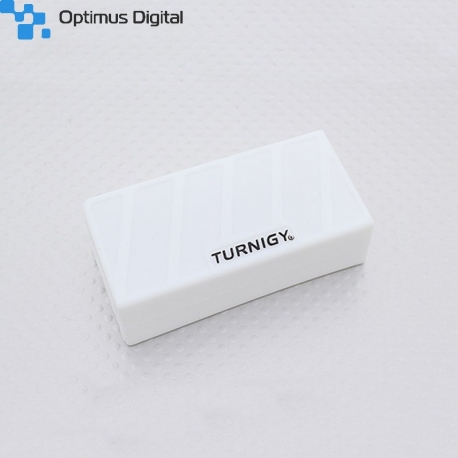 Silicon White Case for Lipo Battery (1000-1300mAh 3S) 74 x 36 x 21 mm