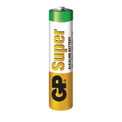 Set of 5 Super Alkaline GP LR03 / AAA Batteries