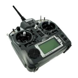 Pereche Emiţător Turnigy 9X 9 Canale cu Modul şi Receptor 8 Canale (Mod 2, Firmware v2)