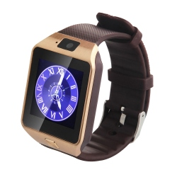 GSM Smart Watch DZ09 - Gold