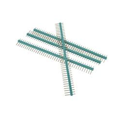 2.54 mm (40p) Green Pin Header