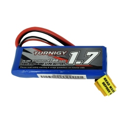 LiPo Turnigy Battery Suitable for 1/16 Monster Beatle, SCT and Buggy 1700 mAh 2S 20C (7.4 V)