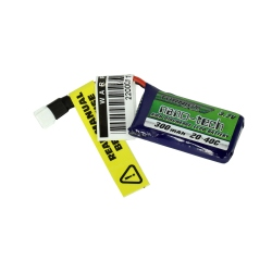 LiPo Turnigy Nano-Tech 300 mAh 1S 20 ~ 40C Battery Compatible with Losi Mini (3.7 V)