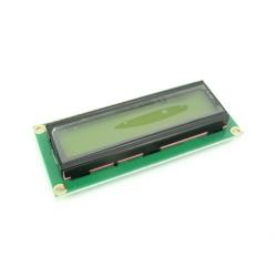 Modul LCD 1602 cu Backlight Galben-Verde de 5 V şi Pini